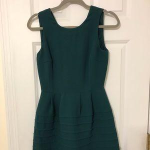 NWOT Madewell Teal Dress